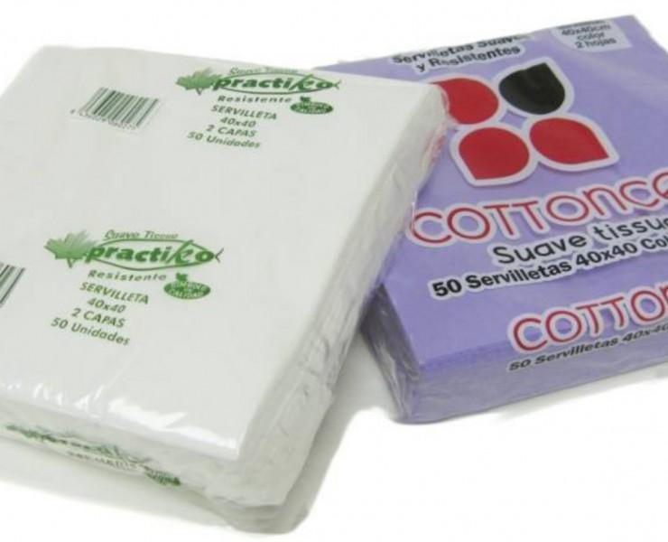 Servilletas Tissue 40x40